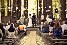Woodland/Forest Weddings / Get ideas and inspiration for your woodland or forest wedding here!