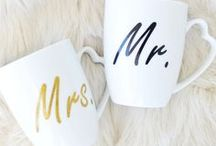 Mugs for couples / Mugs for couples, pretty mugs, unique mugs, hand made and hand painted mugs, cute mugs, his and hers, custom order mugs, personalized mugs, mugs for him and her, buy mugs on etsy