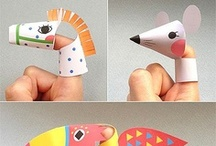 Kid's Crafts for Library / Craft ideas for younger children at the library. / by Dawn Krause