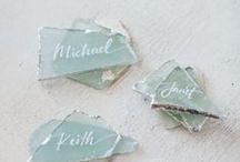 Wedding | Escort Cards & Displays