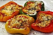 Stuffed Peppers Galore! / All about getting adventurous with stuffed peppers.