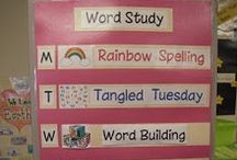 WORD STUDY / by Mrs. McFadden's Classroom Community