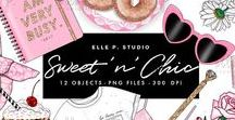 Elle P. Studio Artwork / Graphics and Illustrations by Elle P. Studio