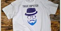 Trička HIPSTERS / Trička TrueHipster s hipsterkými motivy
