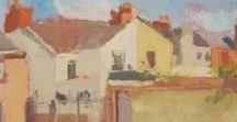 David Robinson: Urban Landscapes / Paintings from around Swindon, UK