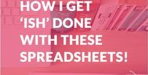 Financial Planning Spreadsheets / Download these template for your budgets and financial planning.