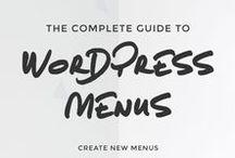 WordPress / wordpress, html, css, blogging, tutorial, tips and tricks, customize, coding, style, learn, website, web development, blog