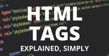 Web Development / html, css, tutorial, tips and tricks, coding, js, javascript, jquery, customize, style, learn, website, web development, formatting