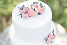 Wedding: Cakes + Dessert / A wedding with out cake has no flavor! Handpainted designs, fondant, intricate piping, naked cakes & more