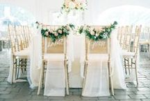 Wedding: Decor / Bars, lounges, tablescapes, lighting & draping for your reception and ceremony