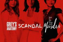 Grey's, Scandal&HTGAWM / by Whitlie James