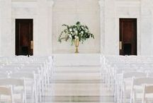 Wedding: Ceremony / Alters, aisles & arches, oh my!