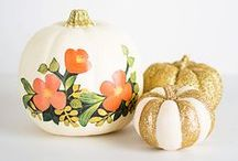 Fall / Design inspiration, home decorating and event styling for a cozy fall season