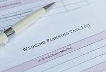 Wedding: Planning / Wedding planning resources, wedding hacks, good-to-know details