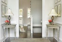 Home: Foyers and Hallways / Creating spectacular entrance ways and functional hallways for your home