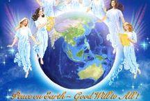 angels  / spiritual / by ilvi