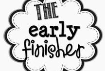 Early Finishers / by Jenny Cox