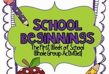 First week of school / by Jenny Cox