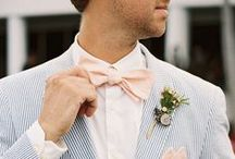 Wedding: Groom / Inspiration for styling any groom into a true gentleman