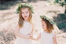 Wedding: Kids and  Babies / Flower girls, ring bearers & children's entertainment for the reception