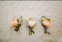 Wedding: Boutonnieres / Boutonnieres do not have to be boring