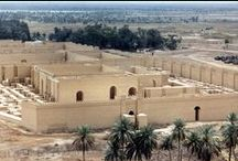 """Hanging Gardens of Babylon / The Greek form Babylon (Βαβυλών) is an adaptation of Akkadian `Babili` meaning """"Gate of God"""" or """"Gateway of the God"""" / by ilvi"""