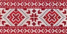 (LS) Slavic Patterns and Symbols / Embroidery patterns from Slavic countries, Slavic symbols and and their meaning.