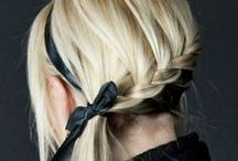 Fashion. Little Girls' Hairstyles. / Featuring hairstyles with braids, ribbons and distinctive headbands