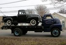 """Old Tow Trucks / You might say we've got a """"thang"""" for Old Tows.  Check out the pins we've found for these relics either online or on the street in Durham, NC."""