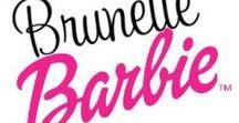 brunette barbieღ