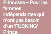 PRINCESSE feministe / PRINCESSE - Une marque pour les princesses qui n'ont pas besoin d'un fucking Prince