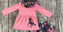Boutique Outfits / Little Girls boutique outfits and sets