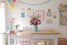 HOME ~ Spring & Summer Decor / Seasonal home decor ~ An inspiration board for decorating your home for the Spring and Summer seasons.
