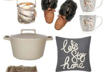 HOME ~ Autumn & Winter Decor / Seasonal home decor ~ An inspiration board for decorating your home over the Autumn and Winter seasons.