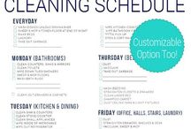 HOME ~ Clean Your Home / Deep spring cleaning ~ A board collection of ideas, inspiration, home remedies, planner routines for spring cleaning your home.