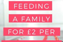 FAMILY ~ Meal Ideas / A board of budget friendly meal plan ideas for feeding your family of fussy eaters / #familymeals #feedalargefamily #budgetmeals #mealideas #familymealideas