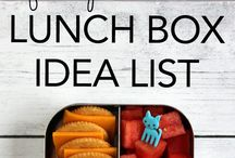 KIDS ~ Lunch Box Ideas / Having the same packed lunches can be boring. This board is full of inspiring food ideas for your kids bento box / #lunchideas #kidslunchbox #bentobox #schoollunches