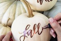 CELEBRATE ~ Hallowe'en / A collection of hallowe'en inspired decorations, handmade crafts and fun ideas.