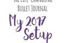PLANNER ~ Inspiration / Bullet journal, Midori, travellers notebook journals ~ An inspiration board full of ideas for bullet journal planner addicts that need notes, lists and organisation in their life.