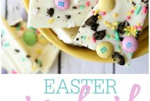 CELEBRATE ~ Easter / A collection of Easter inspired handmade crafts to make and do at home with the kids.