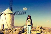 Consuegra / Windmills of Consuegra, Castilla de la Mancha, Spain