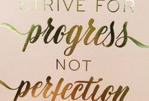 INSPIRATION ~ Quotes / Having quotes on your wall, in your bullet journal or planner can inspire you to strive for your dreams.