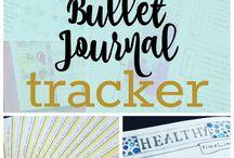 PLANNER ~ Habit Trackers / Various bullet journal trackers. Health trackers, budget trackers, mood trackers.
