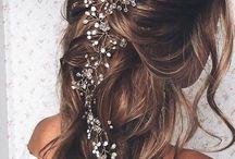 Peinados / #hair #trenzas #coleta # wedding #original #unique #easy
