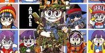 dr.Slump - manga style / Arale Norimaki, Akira Toriyama