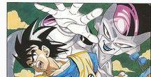 DBZ - manga style / dragon ball, Akira Toriyama