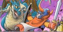 DQ - old style / Dragon Quest 1-6, Akira Toriyama