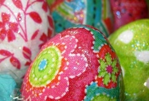 Springtime, Bunnies, Chickies, Easter, oh my! / by Dianna Agzour