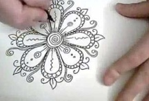 zentangles, doodles and drawing / by Dianna Agzour
