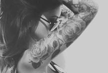 Inkk&Piercingss / Because it's art that will never fade away.  / by Emily Prock